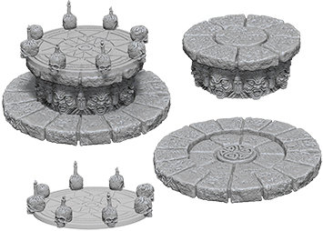 WizKids Deep Cuts Unpainted Miniatures: Magic Dias WIZKIDS/NECA