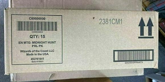 Sealed Case Magic the Gathering Innistrad Midnight Hunt Prerelease Dacks / Kits