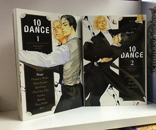 10 DANCE Vol. 1 ,2 Yaoi Manga Paperback – Illustrated, January 22, 2019