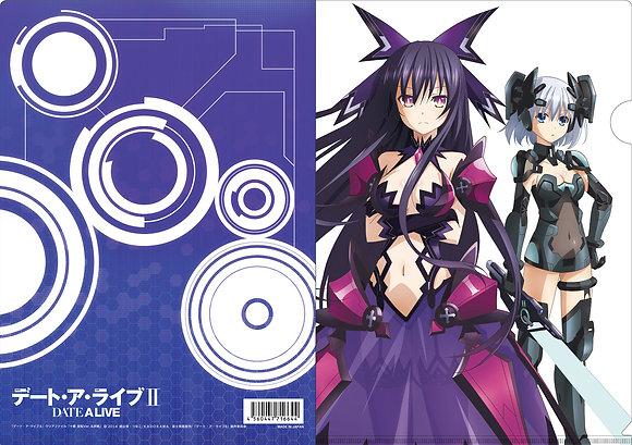 """""""Date A Live II"""" Clear File Toka Hanten Ver. & Origami"""