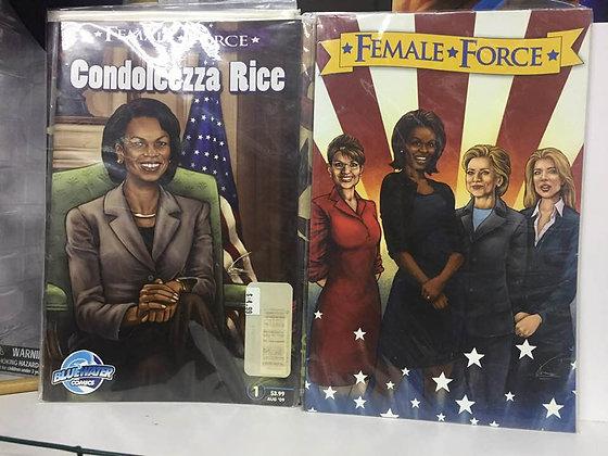 Female Force Vol. 1 : Women in Politics & Female Force:Condoleezza Rice