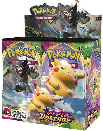 Pokemon Sword and Shield Vivid Voltage Booster Display (36) EN