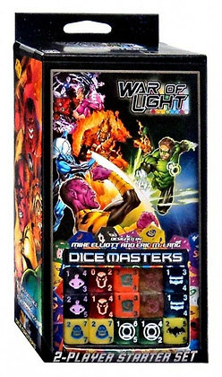 DC War of Light Dice Masters Starter Set