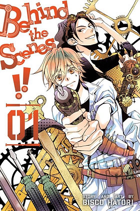 Behind the Scenes GN VOL 1,2,3,4,5 Manga