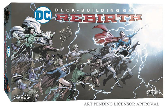 DC Comics Deck-Building Games  DBG: Rebirth  CRYPTOZOIC ENTERTAINMENT