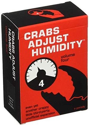 Vampire Squid Cards Crabs Adjust Humidity Volume Four