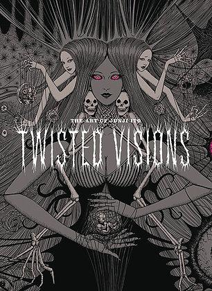 ART OF JUNJI ITO TWISTED VISIONS HC (C: 1-1-2) VIZ MEDIA LLC (W/A/CA) Junji Ito