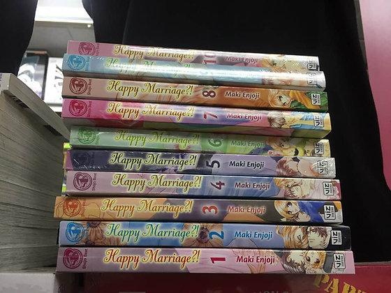 Happy Marriage?!  GN VOL 1,2,3,4,5,6,7,8,9,10 Manga ( Books)