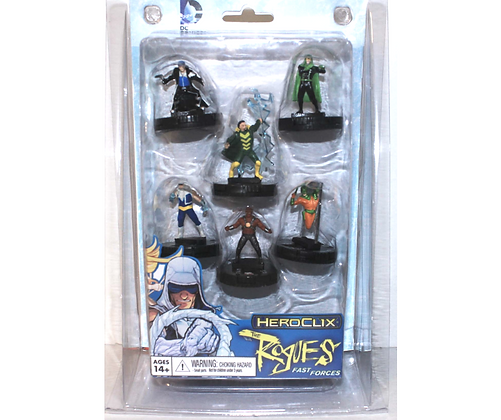 DC HeroClix: Flash Rogues Fast Forces Pack