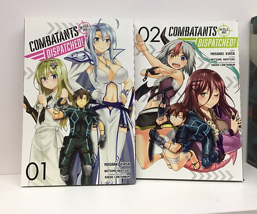 COMBATANTS WILL BE DISPATCHED GN VOL 1,2,4 (3 Manga)