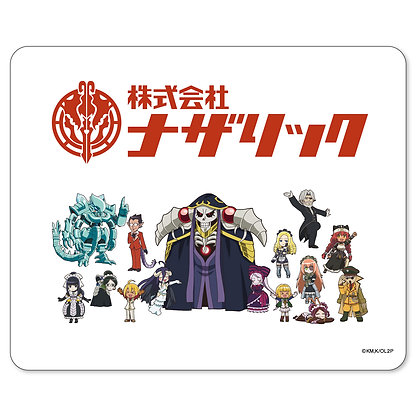 """""""Overlord II"""" Nazarick Co., Ltd. Mouse Pad  by Groove Garage"""