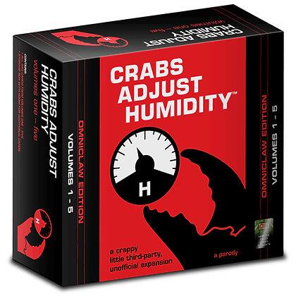 "CRABS ADJUST HUMIDITY: ""OMNI CLAW EDITION"" VOLUMES 1 - 5"