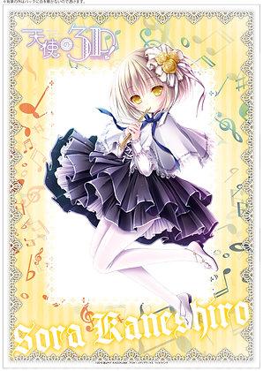 """Angels 3Piece!"" Clear Poster Kaneshiro Sora"