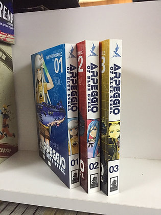 Arpeggio of Blue Steel Vol. 1,2,3, Manga Books Paperback – July 1, 2014  byArk