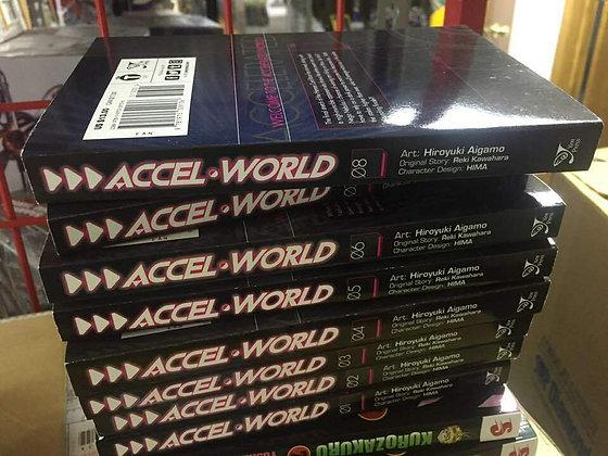 Accel World Vol. 1,2,3,4,5,6,7,8 Manga Books