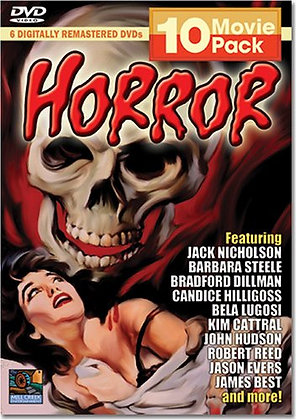 Horror 10 Movie Pack    DVD Box Set  Jack Nicholson (Actor), Barbara Steele (Act