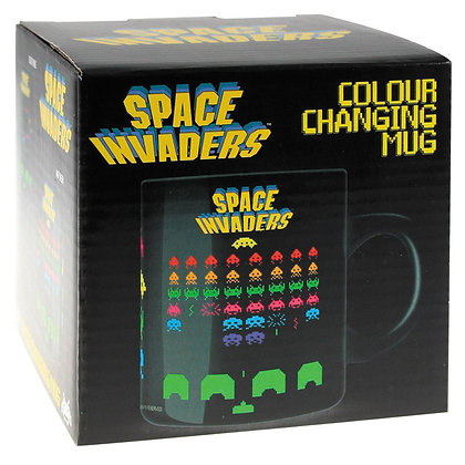 SPACE INVADERS COLOR CHANGING MUG  50 FIFTY LTD
