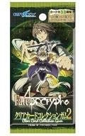 """4 packs of """"Fate/Apocrypha"""" Clear Card Collection Gum 2"""