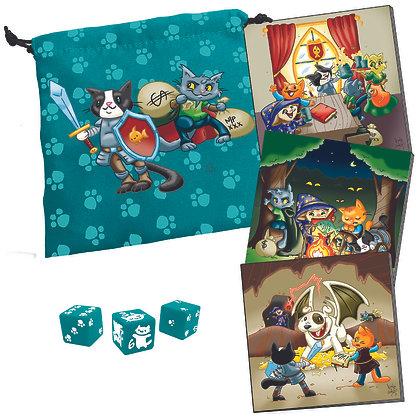 Dungeon Survival Pack Kitten Adventurers  STEVE JACKSON GAMES