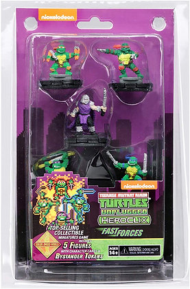 TMNT Heroclix: Unplugged Fast Forces