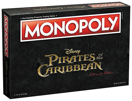 2017 Pirates of the Caribbean Monopoly