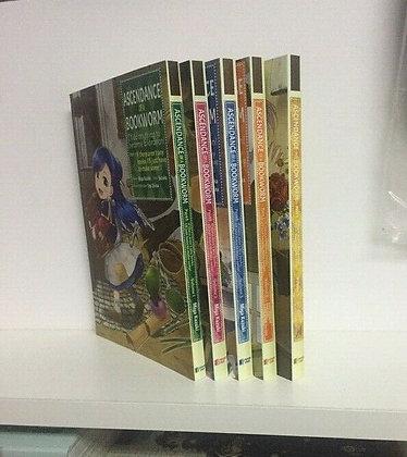 ASCENDANCE OF A BOOKWORM  PART 1 VOL 1,2,3,4,5 (MANGA Books)