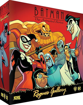 Batman The Animated Series: Rogues Gallery IDW GAMES