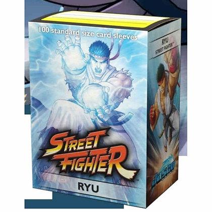 DRAGON SHIELD SLEEVES: ART CLASSIC - STREET FIGHTER: RYU 100 sleeves/box