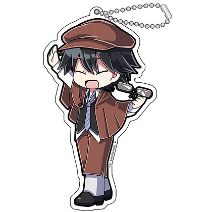 """Bungo Stray Dogs"" Hi Touch Acrylic Key Chain Edogawa Rampo"