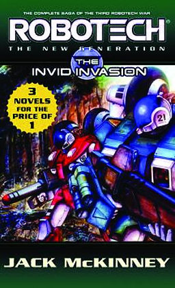 ROBOTECH NEW GENERATION INVID INVASION MMPB (C: 0-1-2) DEL REY (W) Jack McKinney