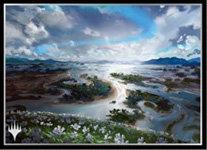 """MAGIC: The Gathering"" Players Card Sleeve Kaladesh Island MTGS-110"