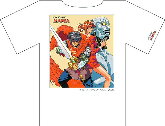 How to Draw Manga HTDM  #3  VOL ONE COMPILING CHARACTERS SIZE : LG (TEE SHIRT)