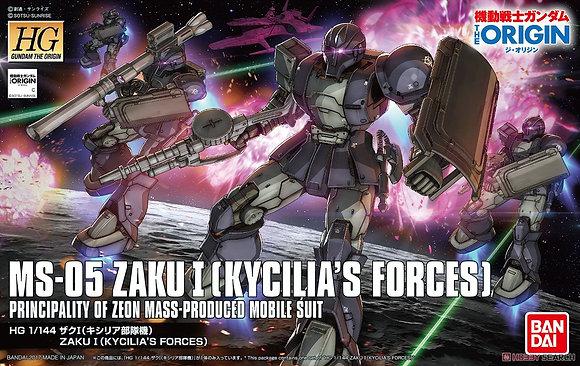 BandaiMobile Suit GundamZaku I (Kycilia`s Forces) (HG) (Gundam Model Kit)