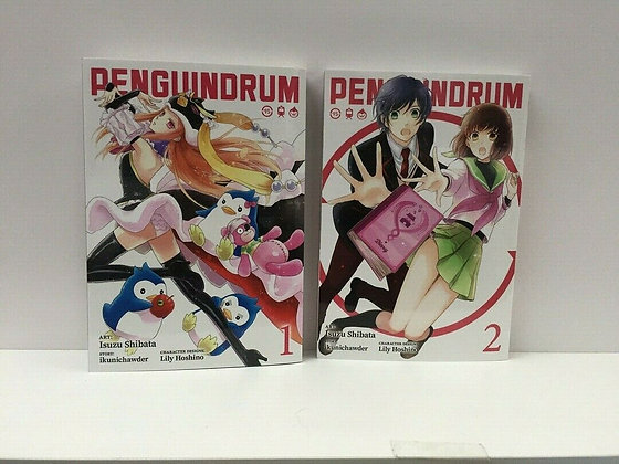 PENGUINDRUM (Manga) Vol. 1,2 Paperback – December 3, 2019  byKunihiko Ikuhara(