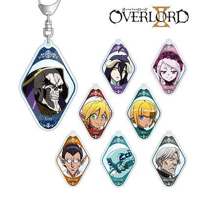 """Set of 8 """"Overlord II"""" Trading Acrylic Key Chain"""
