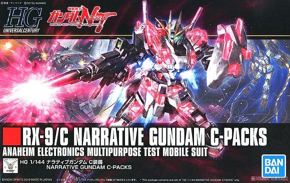 BandaiMobile Suit GundamNarrative Gundam C-Packs (HGUC) (Gundam Model Kit)