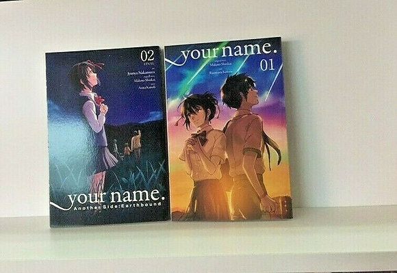 your name. Another Side:Earthbound, Vol. 1,2 (manga) Paperback – Illustrated, De