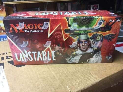 Sealed Box of Magic Unstable Booster Box - 36 packs MTG TCG Card Game