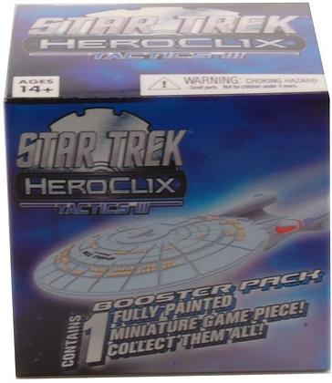 Lot of 4 WizKids Star Trek Heroclix Tactics Series III Booster Pack