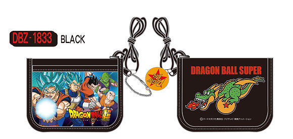 """Dragon Ball Super"" RF Wallet Black DBZ-1833-BK"