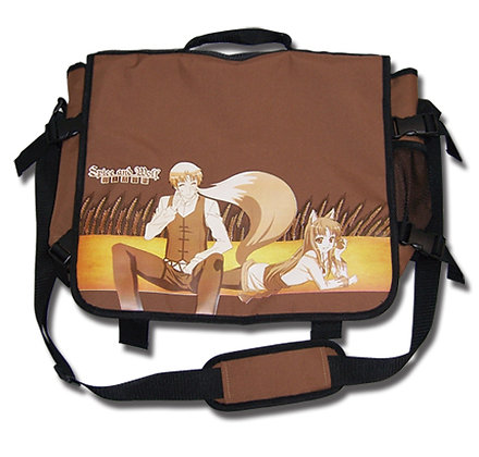 SPICE AND WOLF HOLO MESSENGER BAG