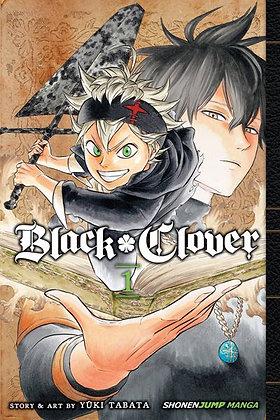 Black Clover Vol 1,2,3,4,5,6,7,8,9,10,11,12 Manga