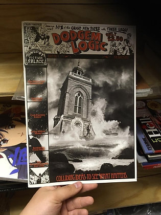 DODGEM LOGIC MAGAZINE #1  By Alan Moore KNOCKABOUT COMIC New
