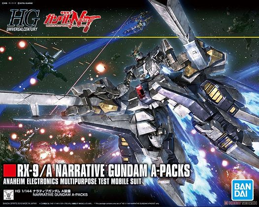 Narrative Gundam A-Packs (HGUC) (Gundam Model Kits)