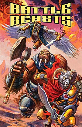 Battle Beasts Paperback – December 18, 2012 by Bobby Curnow  (Author), Valerio S