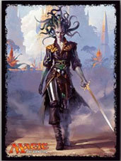 """MAGIC: The Gathering"" Players Card Sleeve Rivals of Ixalan Vraska, Scheming Gor"