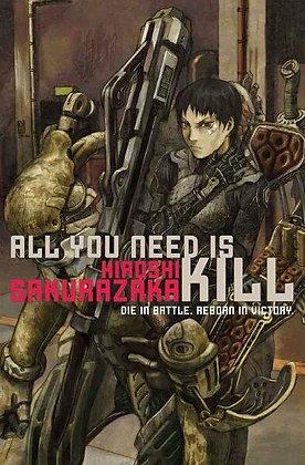 ALL YOU NEED IS KILL SC NOVEL VIZ MEDIA LLC (W) Hiroshi Sakurazaka