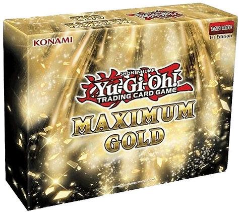 YUGIOH MAXIMUM GOLD DISPLAY BOOSTER
