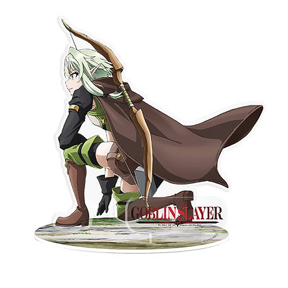 GOBLIN SLAYER HIGH ELF ACRYLIC 2D FIGURE  ABYSSE AMERICA INC From Abysse America