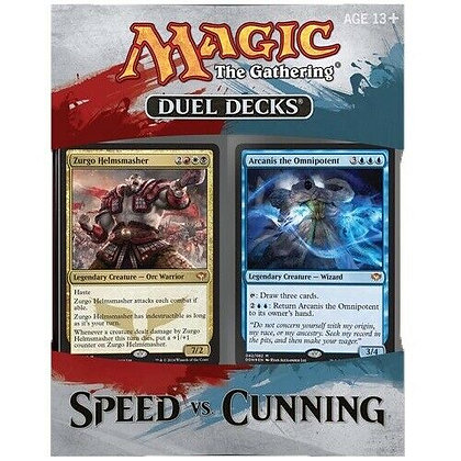 One Magic the Gathering MTG Duel Deck  SPEED vs. CUNNING